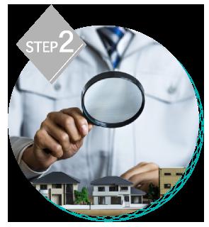 CREIZのご依頼の流れページの現地調査・リフォーム診断の画像